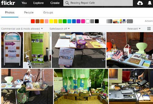 Flickr Reading Repair Cafe