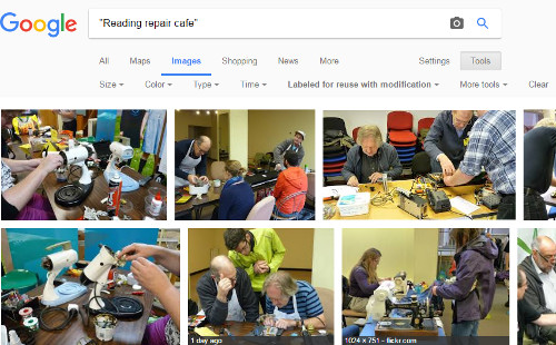 Google Image Search Reading Repair Cafe